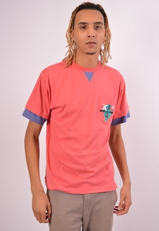Vintage Killtec T-Shirt Top Pink