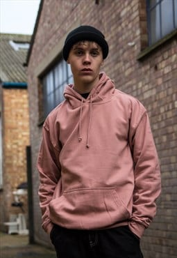 NEW COLOUR - Plain Dusty Nude Pink Hoodie
