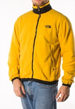 Vintage 90s Yellow North Face Fleece