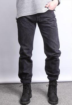 Vintage Levi's Denim Jeans Black
