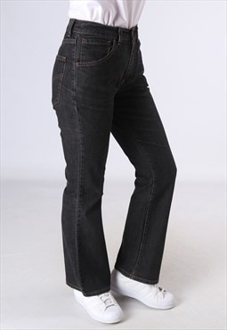 LEVIS 525 Flare Denim Jeans Flared Leg UK 10 (DC5L)