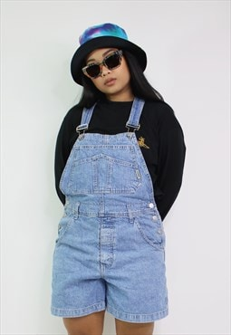 Vintage GUESS  Short Denim Dungarees