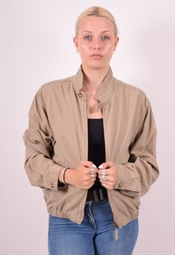 Womens Vintage Jacket Large Khaki 90s