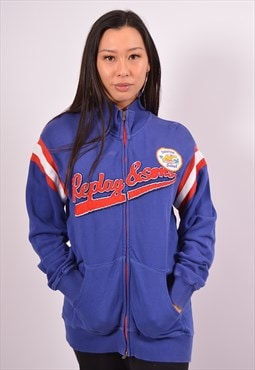 Vintage Replay Tracksuit Top Jacket Blue