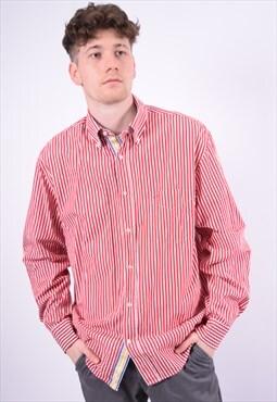 Vintage Paul & Shark Shirt Stripes Red