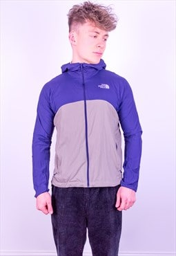 Vintage The North Face Jacket in Blue & Grey