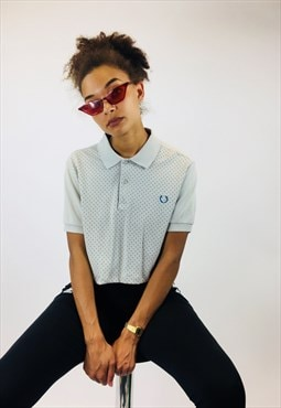 Vintage Fred Perry Cropped Polo Shirt