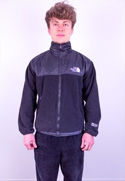 Vintage The North Face Windstopper Fleece Jacket in Black