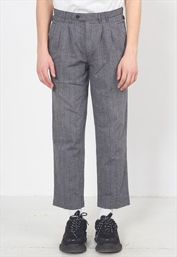 Vintage Grey BERTO LUCCI Trousers Bottoms