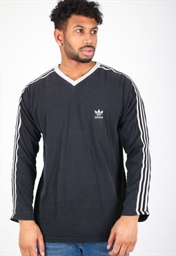 Vintage Adidas Long Sleeve T-Shirt T272