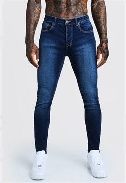 Essential Slim Max Skinny Denim Jeans - Dark Wash Blue