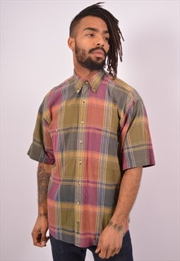 Vintage Timberland Shirt Oversized Check Multi