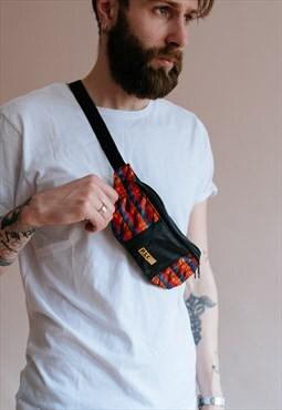 Vintage 90's festival unisex bum bag