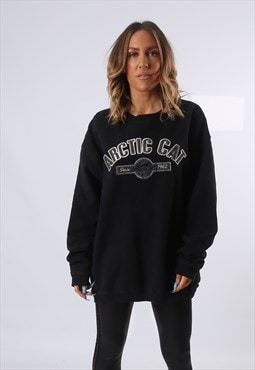 Sweatshirt Jumper Oversized ARCTIC CAT Logo UK 20 - 22 (EQ4T