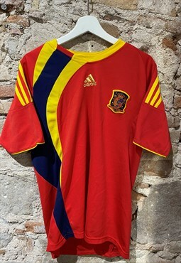 spain football shirt adidas