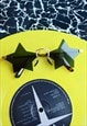 Pop Star Sunglasses - Star Shaped Rimless Black