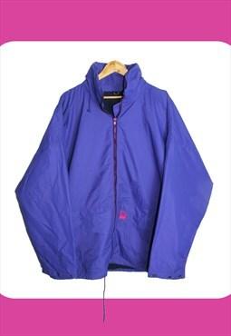 Vintage 90's Purple Helly Hansen Windbreaker Jacket