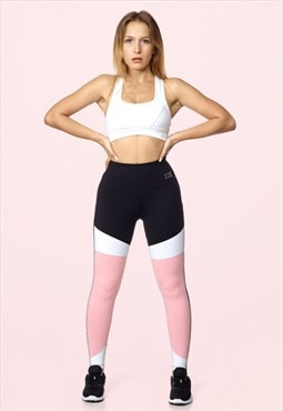 Sportswear Fitness & Yoga Legging Paris Pink