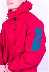 Vintage The North Face Gore-Tex 1/2 Zip Jacket in Red