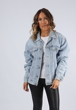 Denim Jacket Oversized Fitted RIFLE UK 16  (K95I)