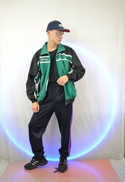 Three colour vintage sports jacket