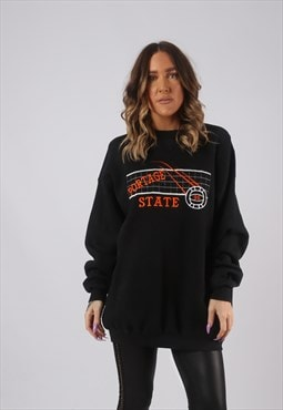 Sweatshirt Jumper Oversized VOLLEYBALL Long UK 18 - 20 (DKHS