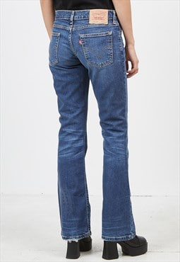 Vintage Blue LEVI'S 529 89 Fit Boot Cut Denim Jeans