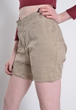 Vintage Dickies Workwear Shorts Beige w32