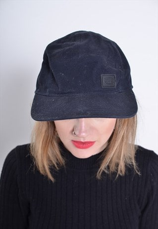 VINTAGE ANIMAL BASEBALL CAP HAT BLACK