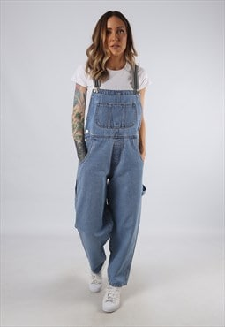 Vintage ARIZONA Denim Dungarees BICH REWORKED UK 12 (9D4S)