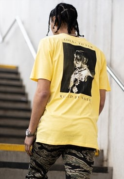 Earlham T-shirt - Yellow