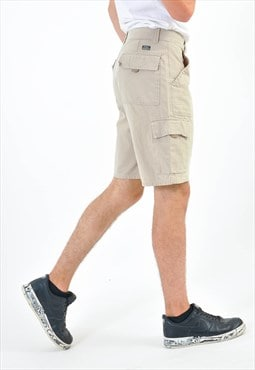 Vintage cargo shorts in beige