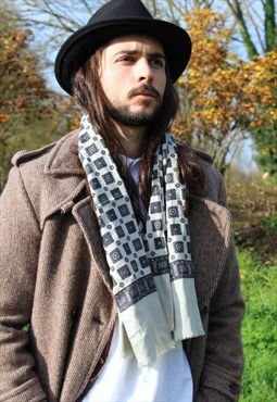 Vintage 70s Mod Paisley Scarf Sammy Indie Gents London Rock