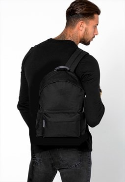 Staple Blank Rucksack Backpack Bag - Black