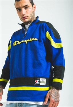 Vintage 80s Champion 1/4 Zip Sweatshirt / S5497