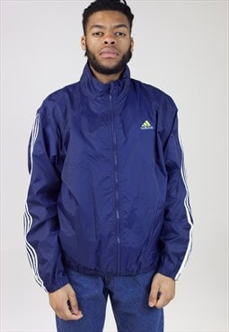 Vintage 90s Adidas Navy Shell Sports Jacket