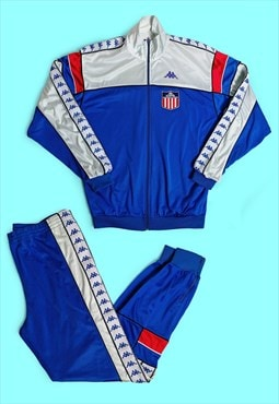 Vintage 80's Kappa Track and Field Team USA Tracksuit