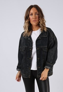 Denim Jacket Oversized Fitted  JEP'S UK 16  (K94G)