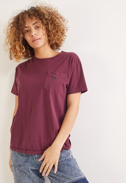Vintage Ralph Lauren T-Shirt Burgundy