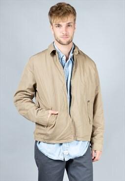 Vintage Beige Worker Style Lined Levi's Jacket