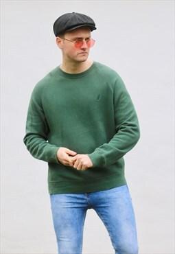 Nautica USA 90s Emerald Green Sweatshirt