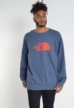 Vintage The North Face Sweatshirt in Blue