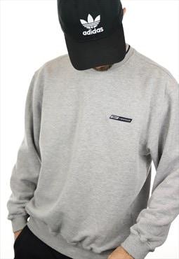 Vintage 90s REEBOK Sweatshirt Grey