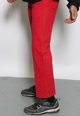 Vintage Versace Red Jeans (rtrn)