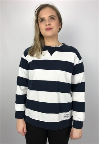 VINTAGE RALPH LAUREN STRIPED SWEATSHIRT