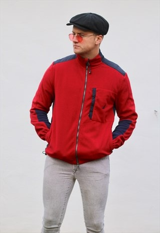 NAUTICA USA MINIMALIST FLEECE JACKET