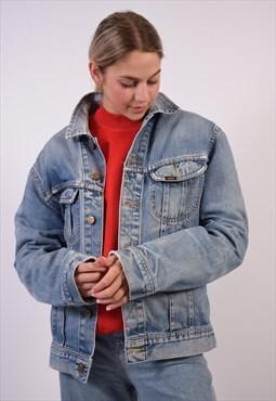Vintage Lee Denim Jacket Blue