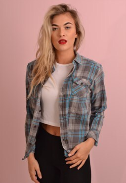 Check Flannel Shirt GRS539