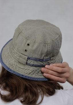 90's vintage denim BUCKET hat