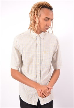 Vintage Timberland Shirt Short Sleeve Check Multi
